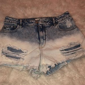 PACSUN BRAND NEW NEVER WORN  denim shorts